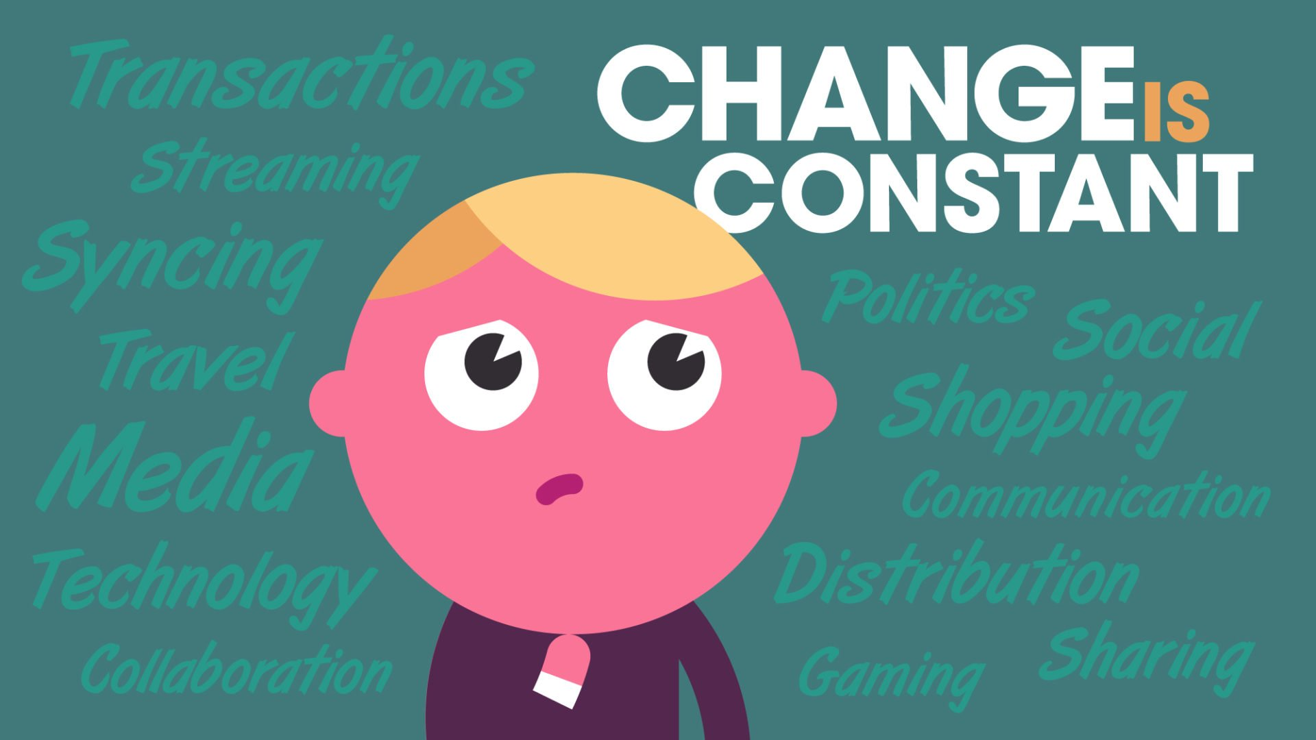 Change Management Why Big Change Is The New Normal In Business